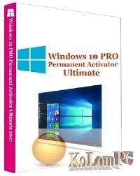 Windows 10 Pro Permanent Activator Ultimate