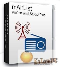 mAirList Professional Studio Plus