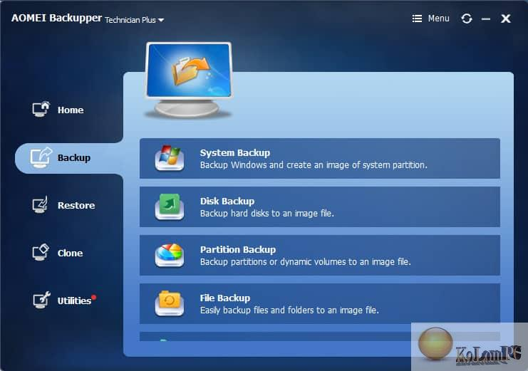 AOMEI Backupper download