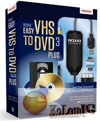 Roxio Easy VHS to DVD 3 Plus