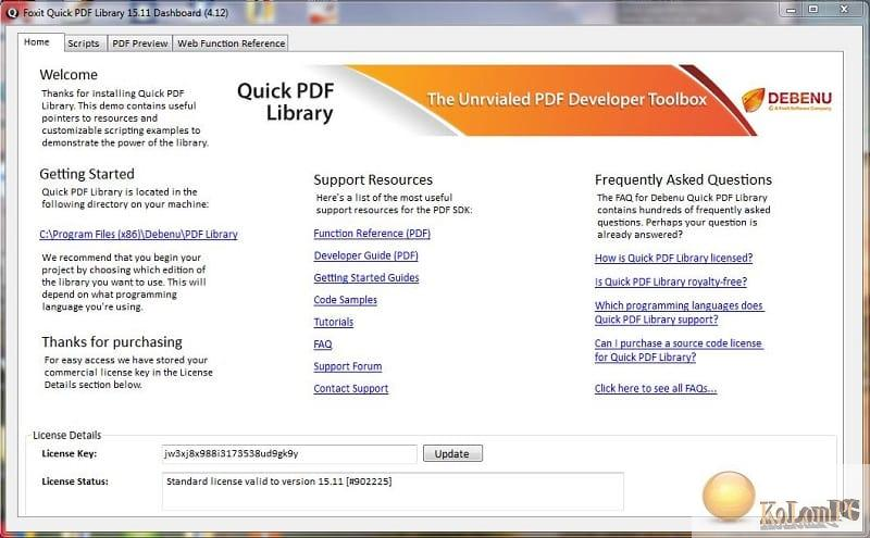Foxit Quick PDF Library Crack