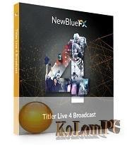 NewBlueFX Titler Live 4 Broadcast