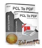Mgosoft PCL To PDF Converter