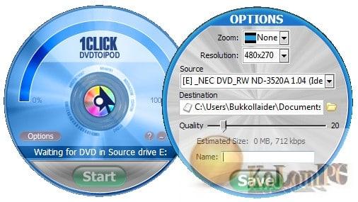 1CLICK DVDTOIPOD