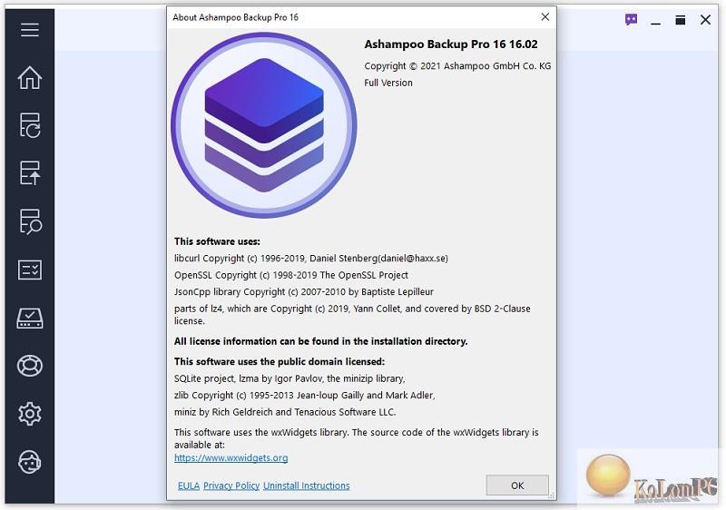 about Ashampoo Backup Pro