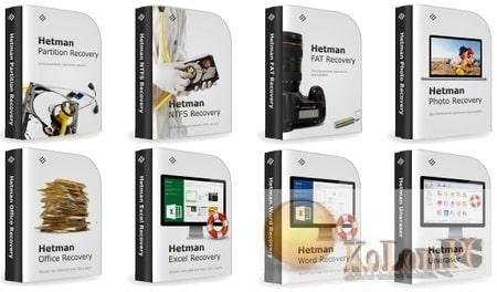 Hetman Data Recovery Pack settings