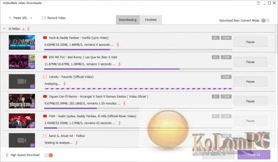 iVideoMate Video Downloader settings