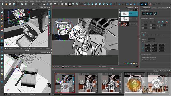 Toon Boom Storyboard Pro  settings