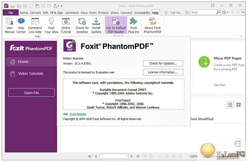 PhantomPDF Business help