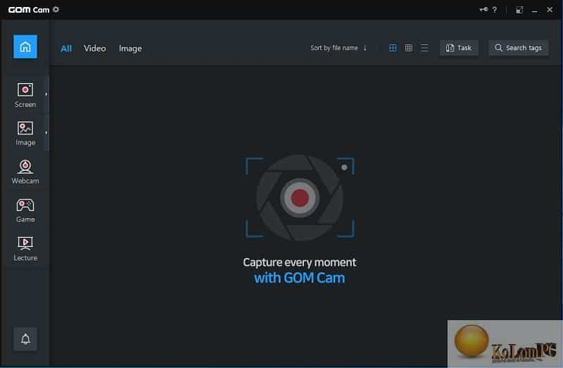 GOM Cam settings