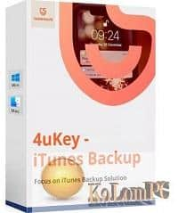 Tenorshare 4uKey iTunes Backup