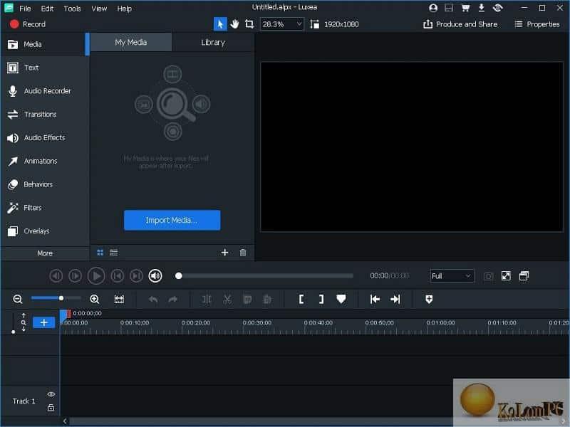 ACDSee Luxea Video Editor settings
