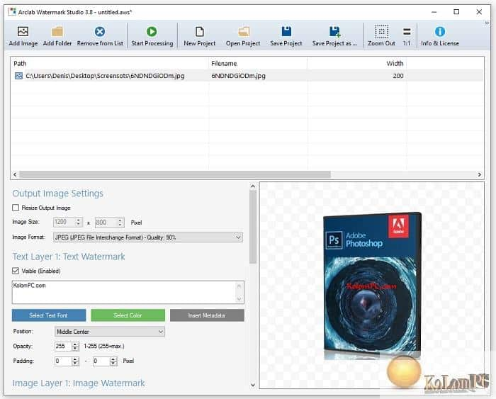 Arclab Watermark Studio review