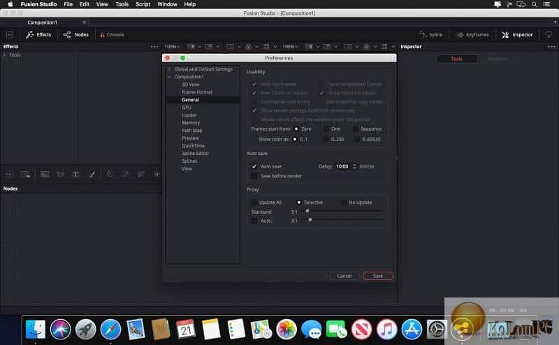 about Blackmagic Design Fusion Studio