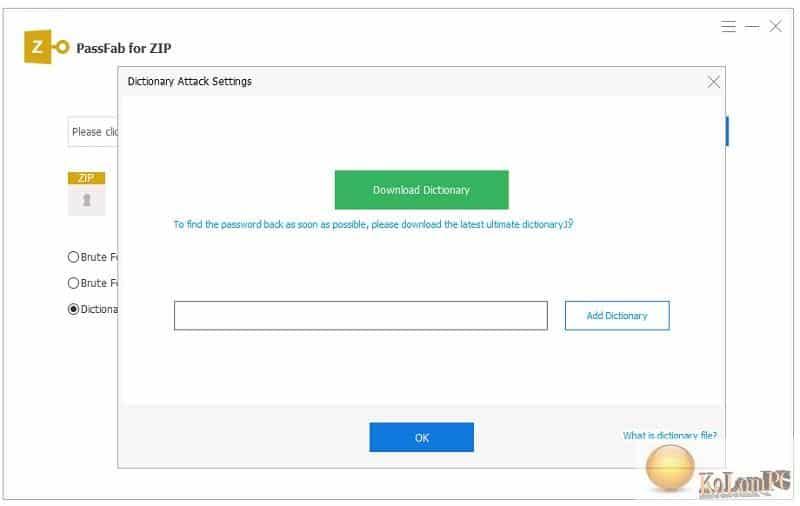 PassFab for ZIP unlocking 2